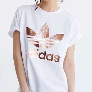 Adidas Rose Gold T-Shirt